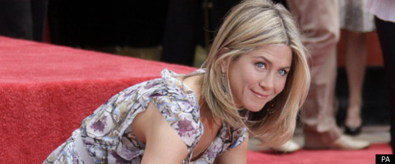 JENNIFER ANISTON HAND AND FOOTPRINT CEREMONY