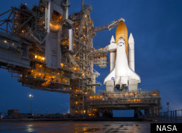Space Shuttle Atlantis Launch Live Video