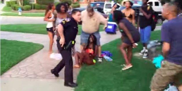 Cop Placed On Leave After Video Emerges Of Brutal Arrests
