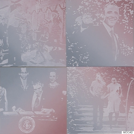 pruitt four obama portraits