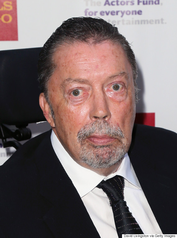 Tim Curry Makes Rare Public Appearance At Tony Awards Party