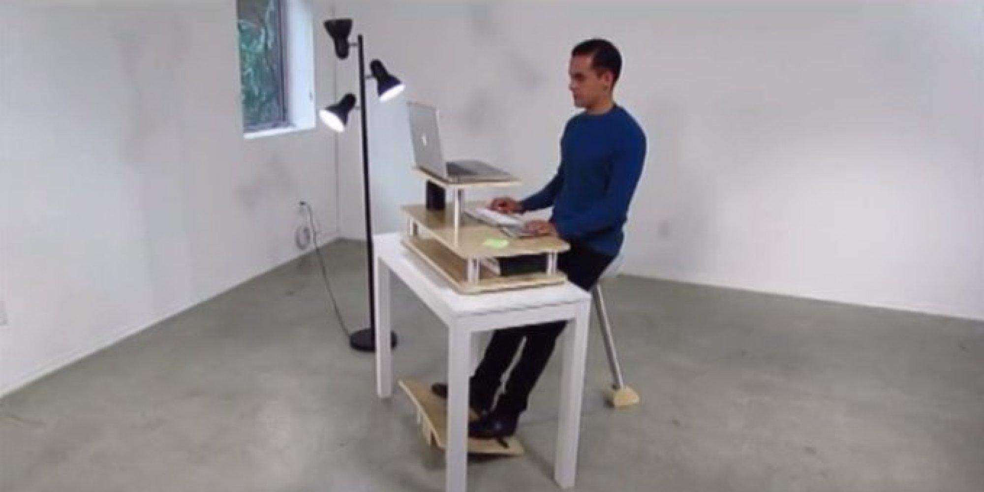 vid o le si ge du futur pour ne plus avoir mal au dos au bureau. Black Bedroom Furniture Sets. Home Design Ideas