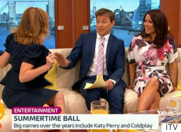 Why Is Kate Garraway Flashing Her 'GMB' Co-Hosts?