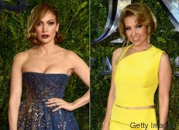 Jennifer Lopez y Thalía lucieron hermosas en los Tony Awards