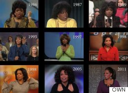 25 Years Of Oprah's Hairstyles In Just 2 Minutes