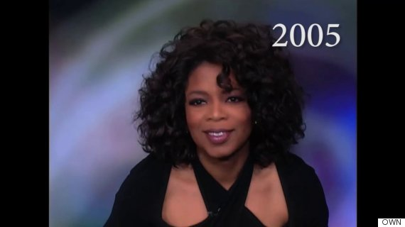 oprah hairstyles : 25 Years Of Oprahs Hairstyles In Just 2 Minutes The Huffington Post