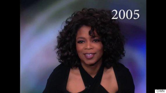 oprah hair 2005