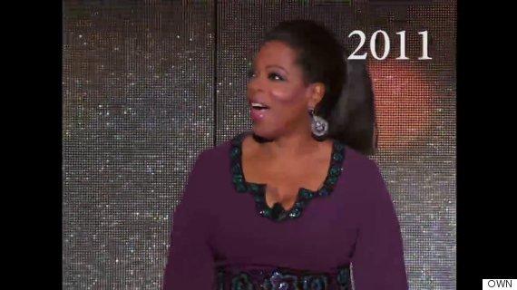 oprah hair 2011