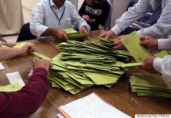 turkey election ballot