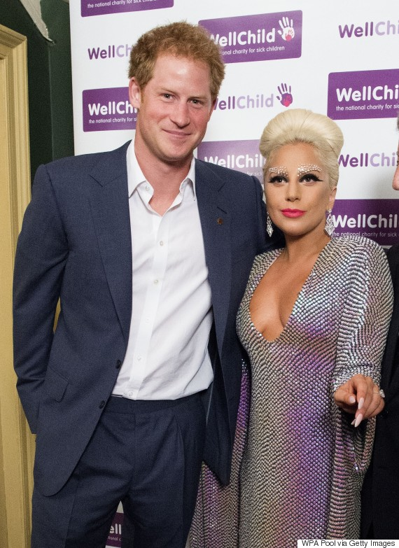lady gaga prince harry