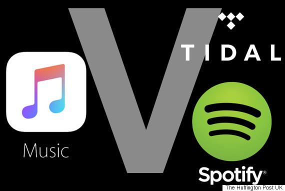 apple vs tidal