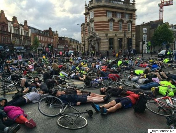 camberwell cycling death protest