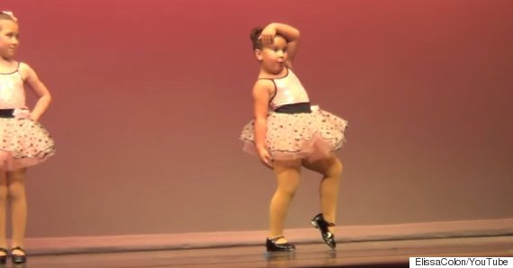 Girl Steals The Show At Her Dance Recital With Dance Moves