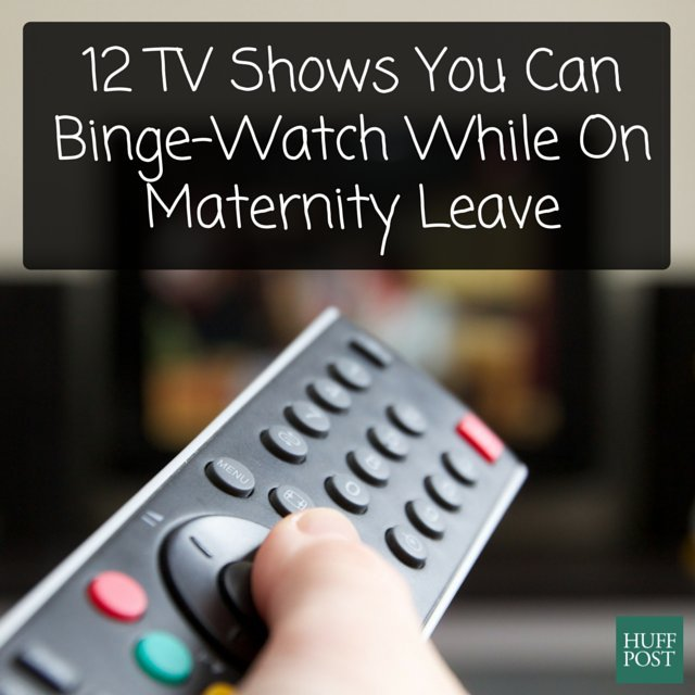 binge watch maternity