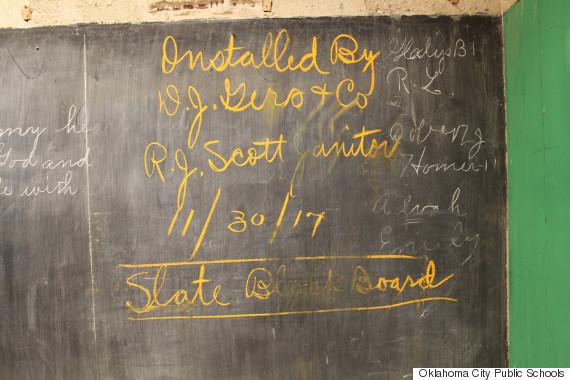 oklahoma chalkboard