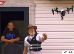 The Story Behind This Incredible Drone-Assisted Flood Rescue