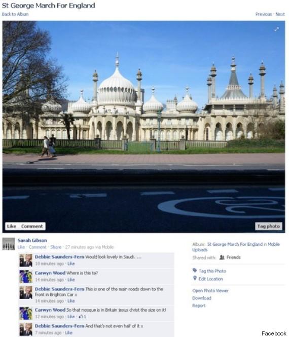 brighton mosque edl