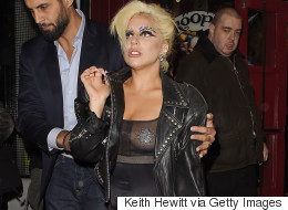 Lady Gaga Returns To Her Old Self As She Ditches Demure Look