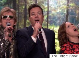 Jimmy Fallon, Molly Shannon And Dennis Leary Kill It At 'Nonsense Karaoke'