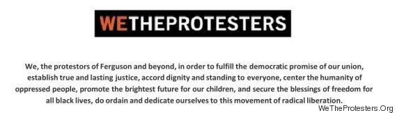 ferguson protester newsletter