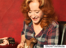 Women Need To Pull More Strings and Stop Playing Second Fiddle -- Bonnie Raitt Picked As Only Female Of '100 Guitar Heroes'