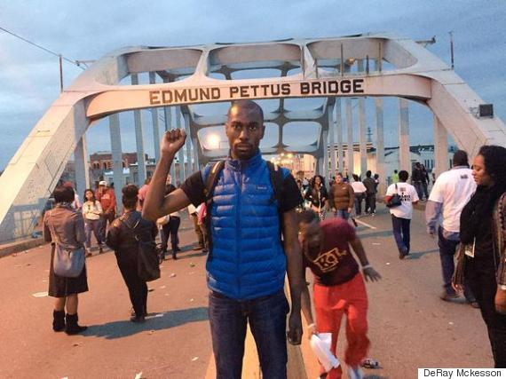 deray mckesson selma