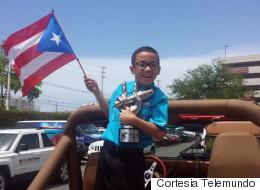 Joanel llega a Puerto Rico y lo reciben como un héroe