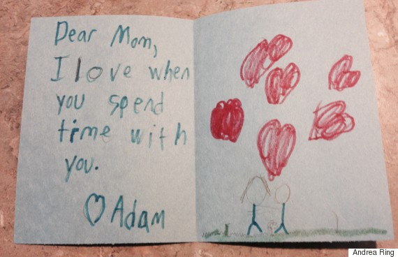 cute kid note