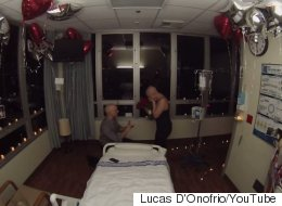 Man Proposes To High School Sweetheart After Her Last Chemo Session