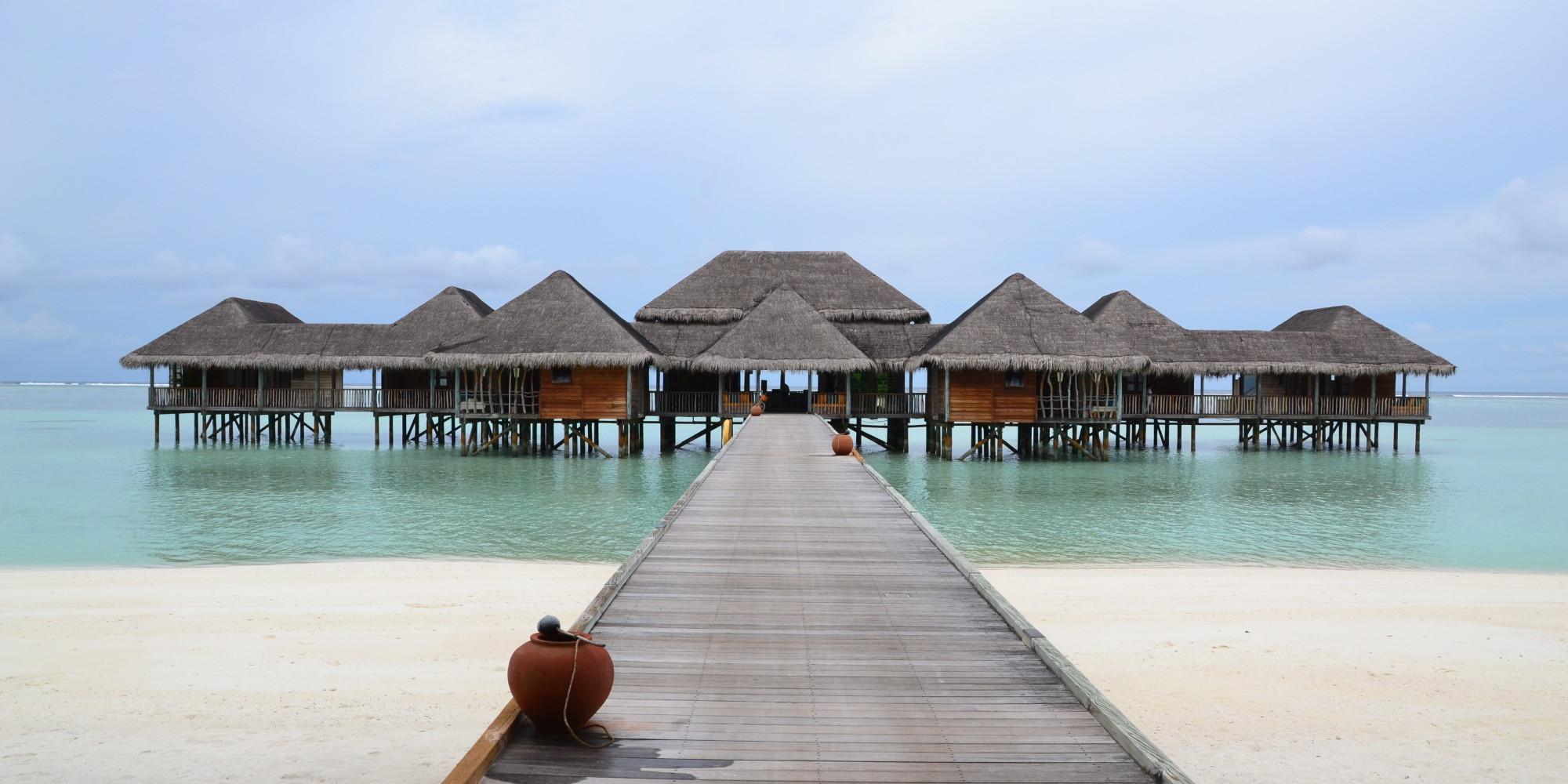el mejor hotel del mundo est en maldivas y probablemente