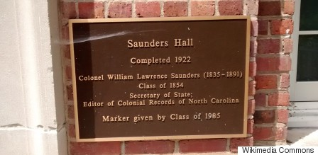 Saunders Hall at UNC