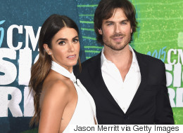 Nikki Reed And Ian Somerhalder Look Stunning At CMT Music Awards