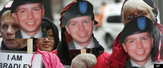 BRADLEY MANNING PROTEST