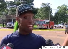 Green-Haired Crash Witness Gives Best Interview Ever