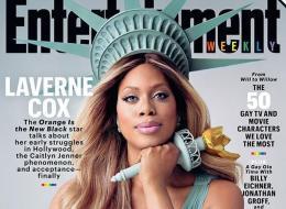 L'actrice transgenre d'Orange is the New Black en Statue de la liberté