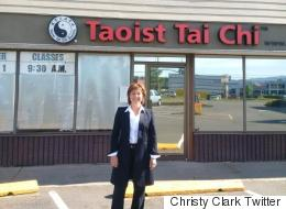 Christy Clark Gives Zero F**ks About Yoga Haters