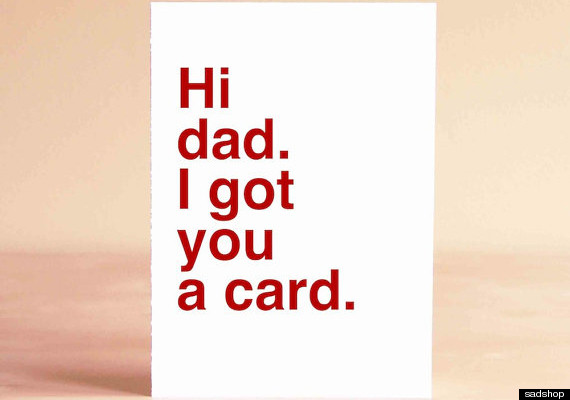 17 Fathers Day Cards For People Who Arent Ridiculously Sentimental