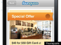 Foursquare Deals