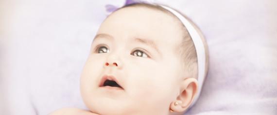 ohrringe stechen baby