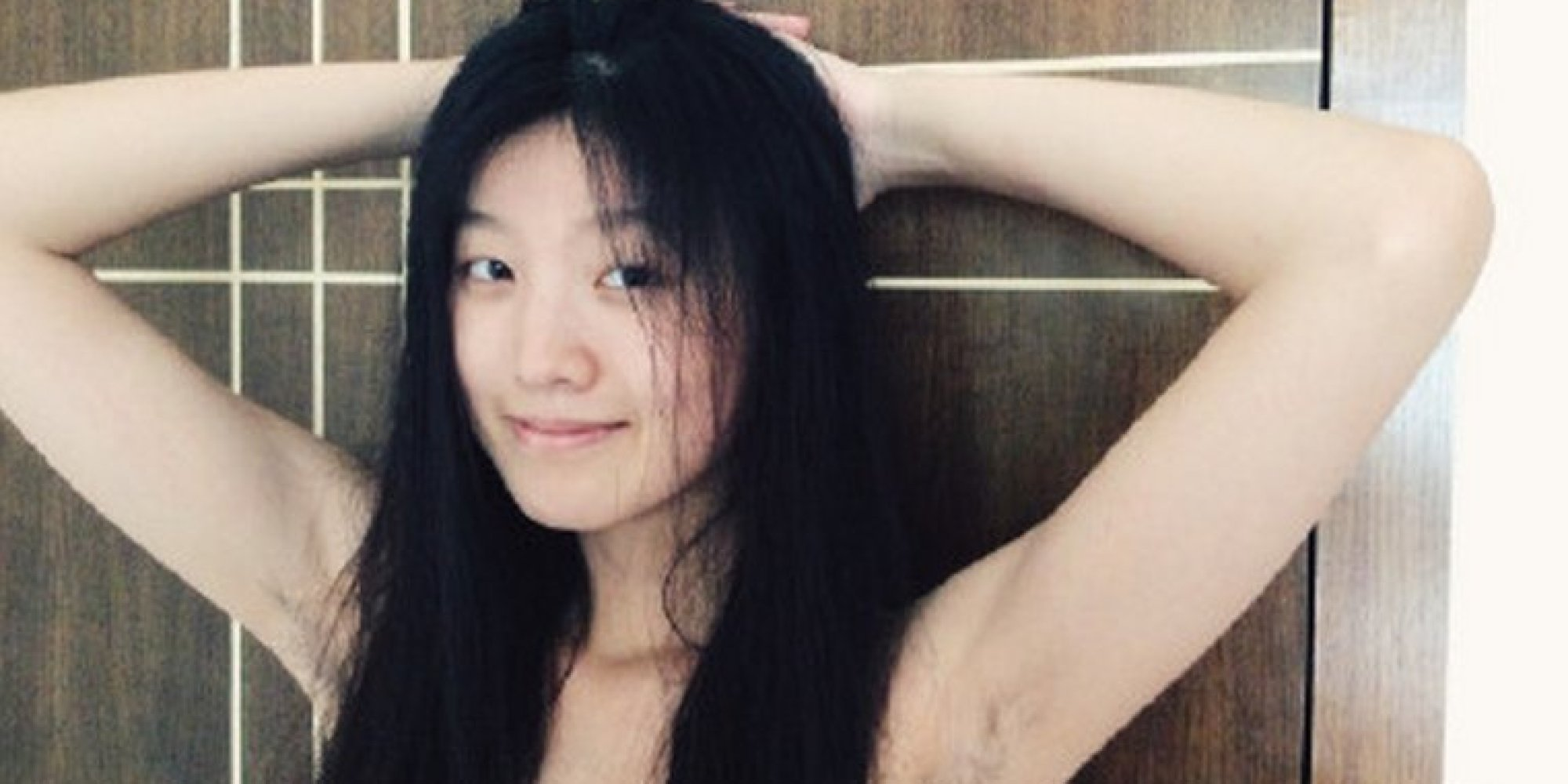 japanese hairy armpit mature uncensored young hairy asian girl If You Got It, Flaunt It: Chinese Feminists Bare Their