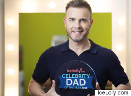 Gary Barlow Crowned Celebrity Dad Of The Year 2015