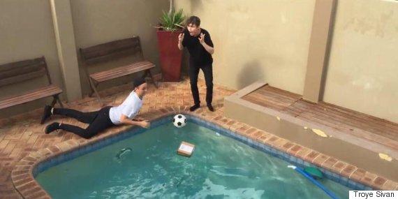 apple watch pool prank