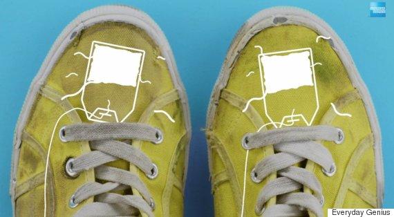 tea bags shoes