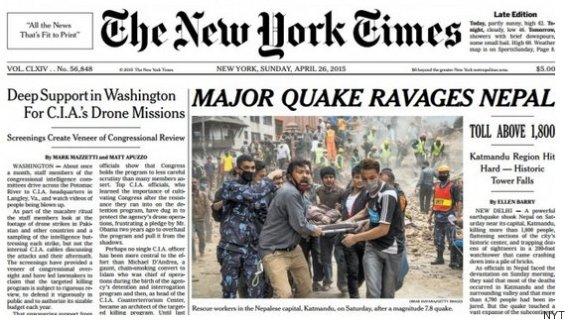 report writing on nepal earthquake