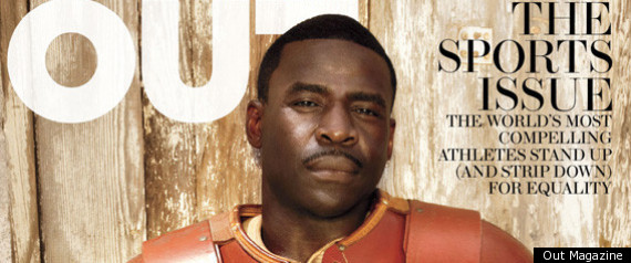 MICHAEL IRVIN OUT MAGAZINE COVER