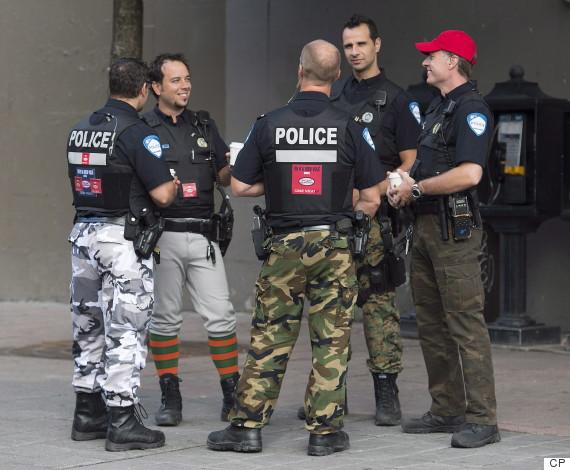 montreal police pants