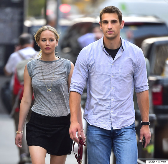 Jennifer Lawrence Has A Very Attractive Bodyguard Huffpost