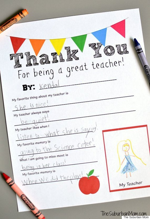 We searched pinterest for teacher gift ideas so you dont have to thanks negle Image collections