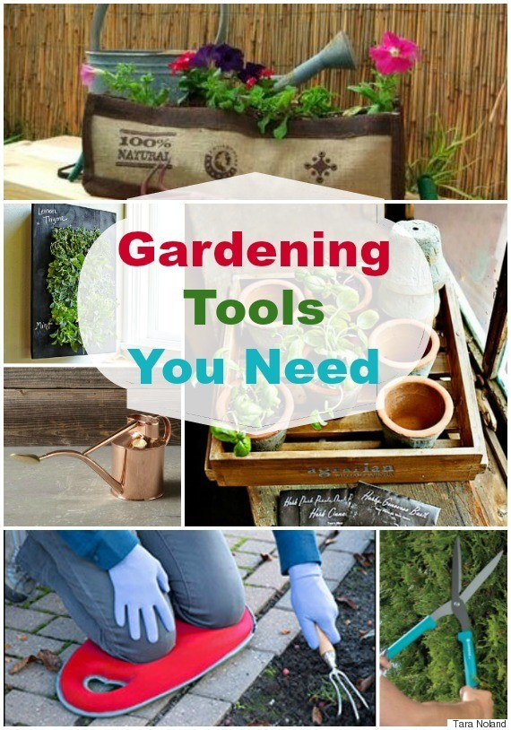 20 gardening tools and accessories you 39 ll need this spring for Gardening tools you need