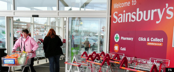 Sainsbury's Staff In Pay Protest